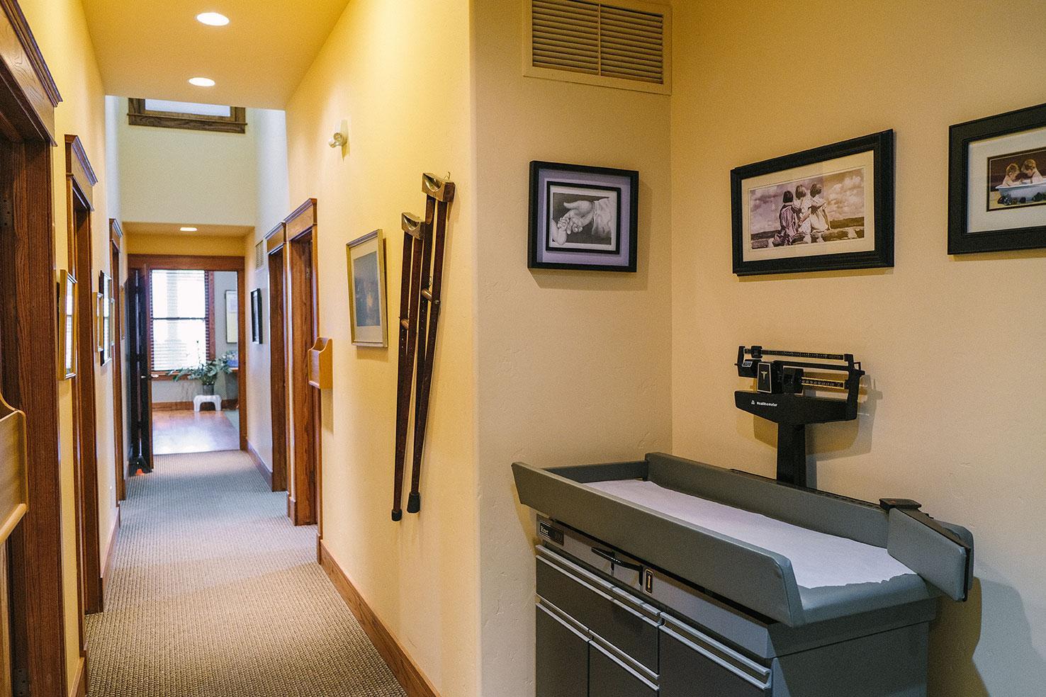trailhead clinics montrose hallway
